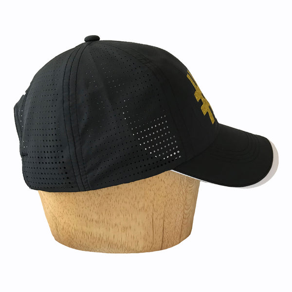 Nike performance Cap with sparkly gold logo