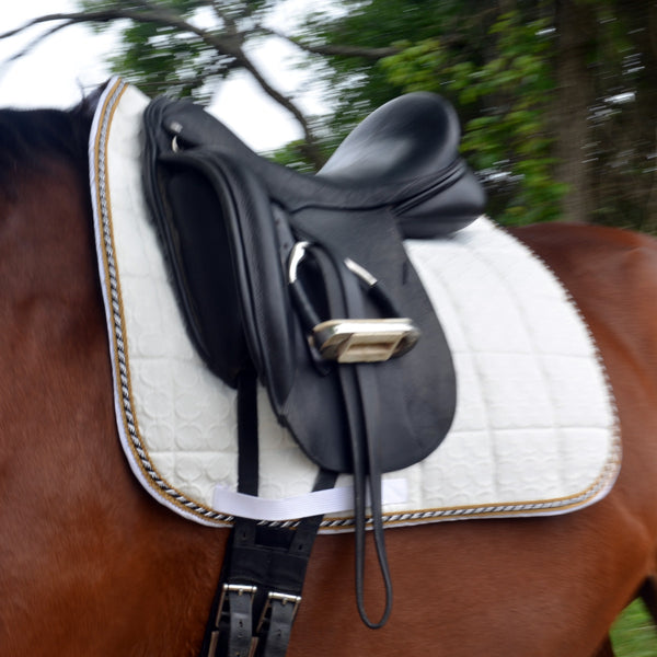 large dressage saddle pad