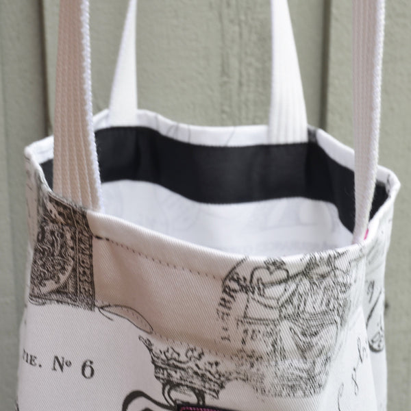 hand made shopping tote bag