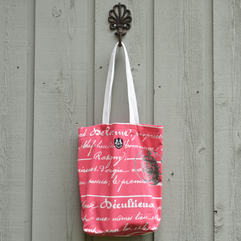 Shopping tote bag for equestrians