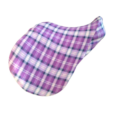 Plaid saddle cover by ZIKY