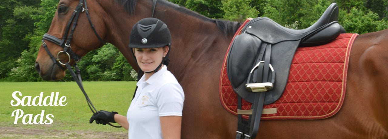 ZIKY designer saddle pads