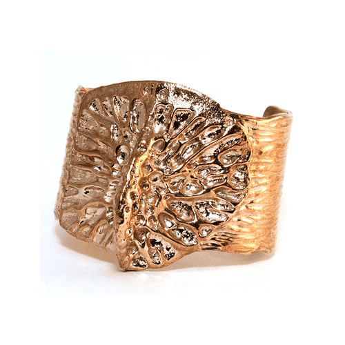 Bronze Backbone Cuff by Porter Lyons