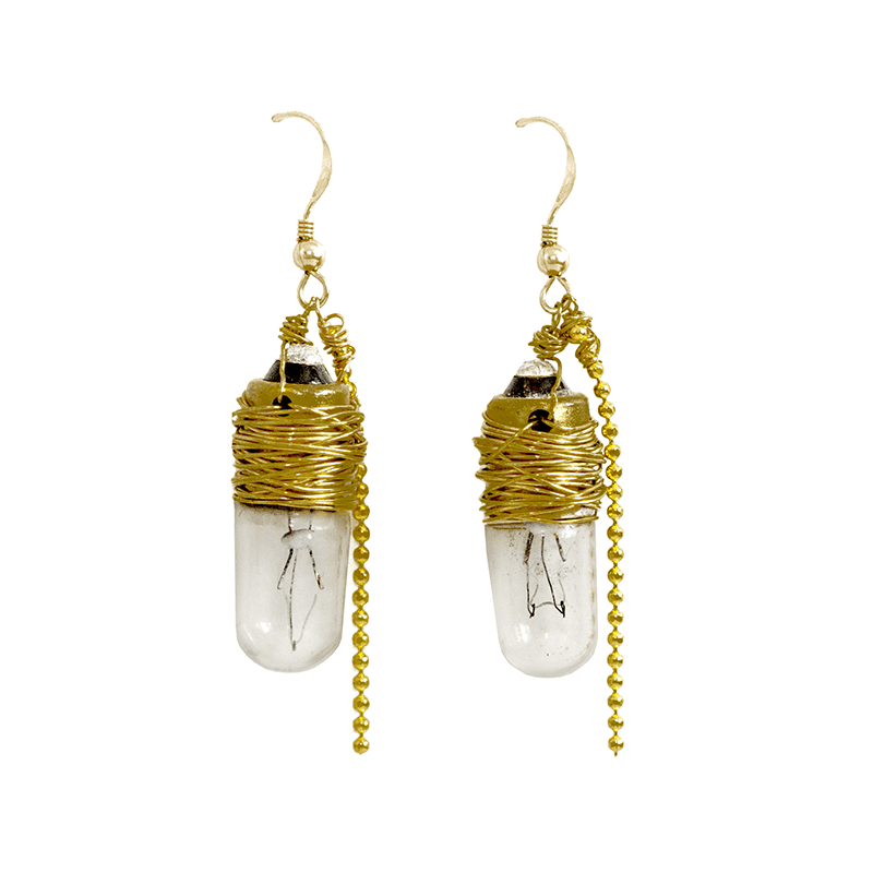 Light Up Literacy Earrings