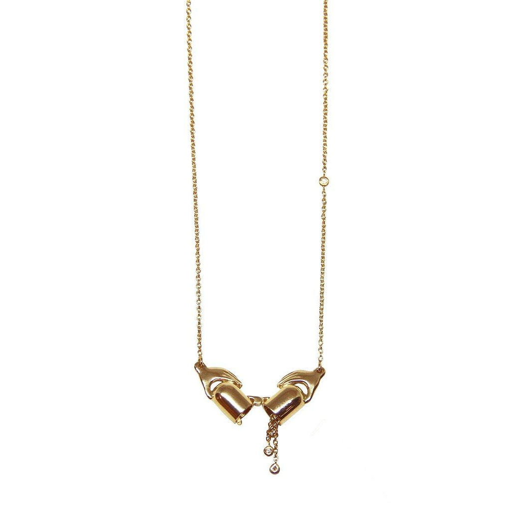 Care 7MG Necklace  3.10GM | .01CT