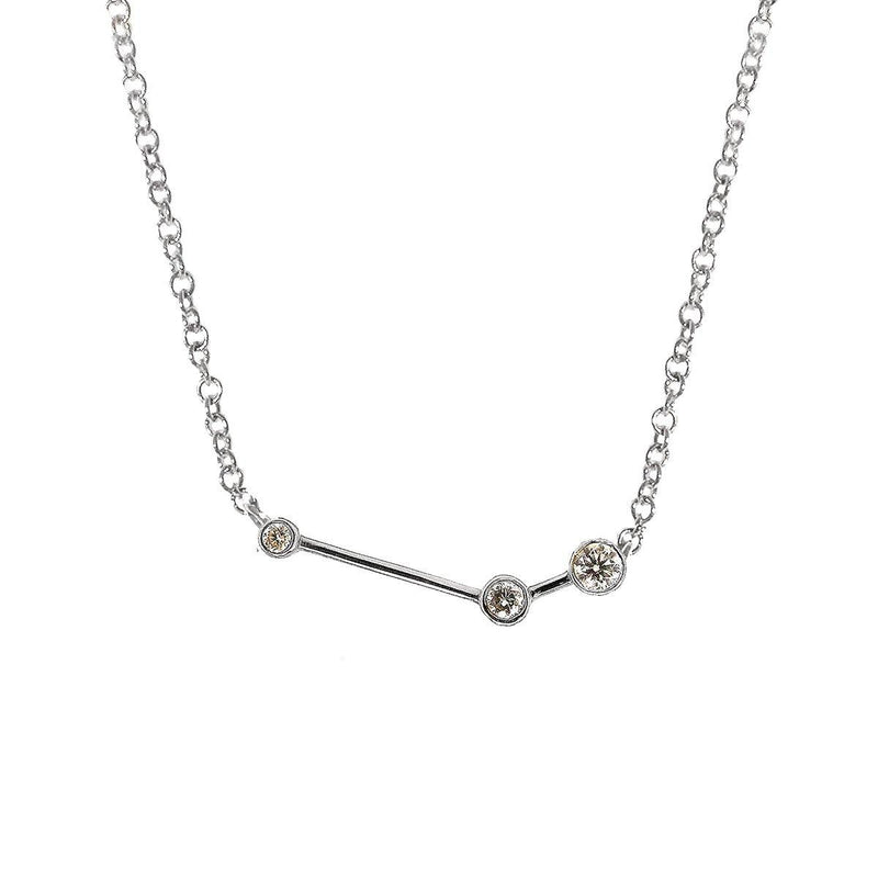 Aries Zodiac Necklace | 1.50GMS .10CT