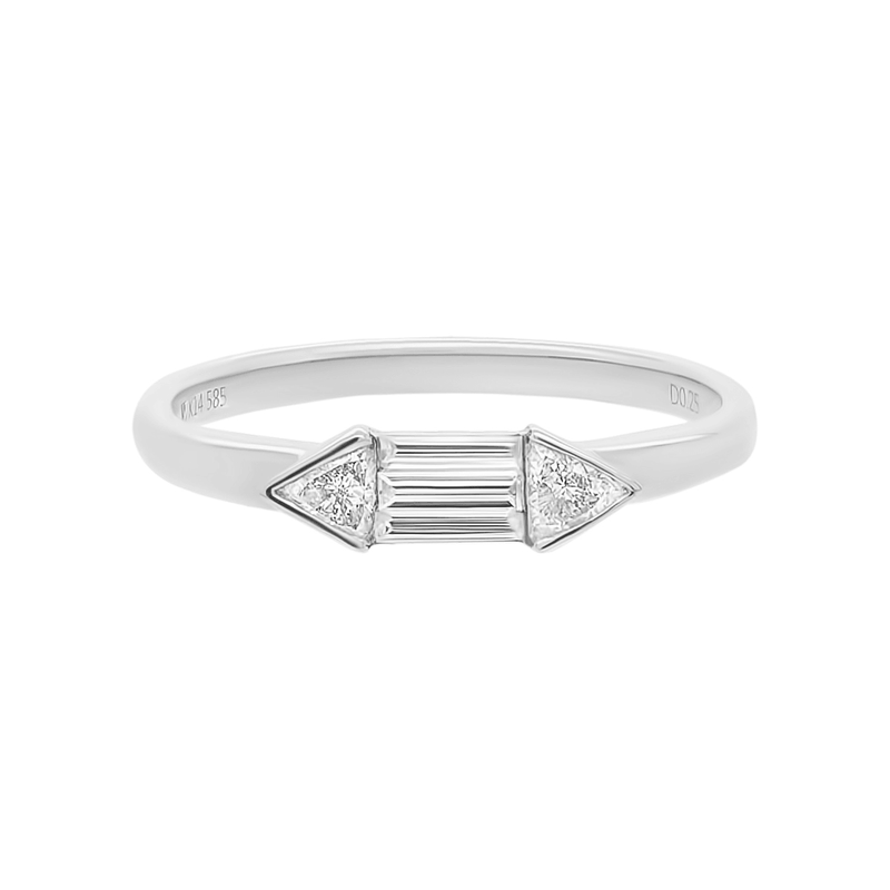 Arrow Ring | 1.4GMS .25CT