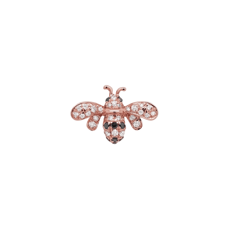 Bee Mine Stud  | .60GMS .1CT | Single