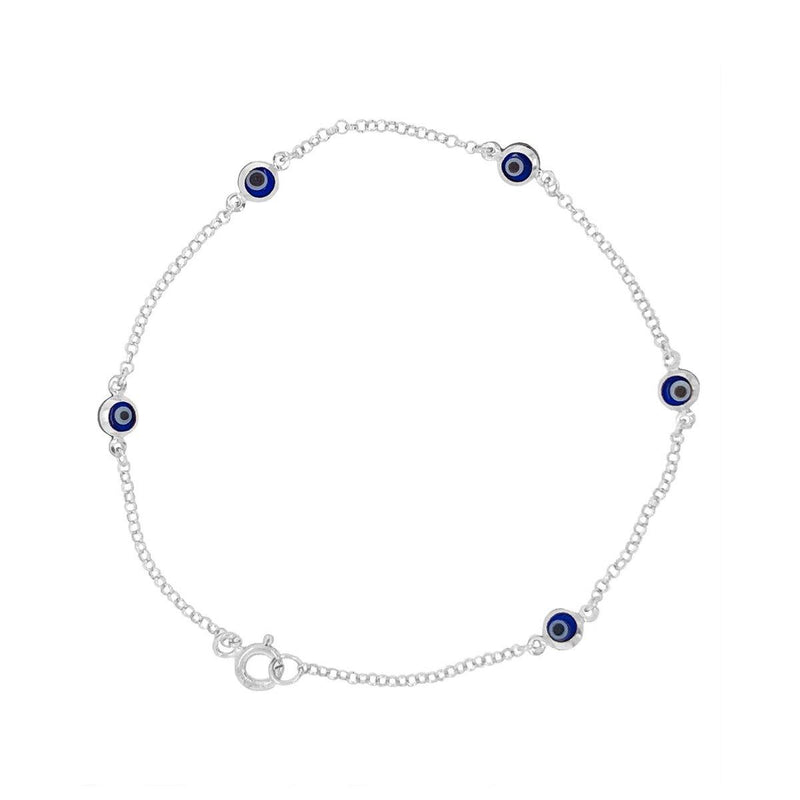 Evil Eye Bracelet | Blue Eyes | 1.17GMS
