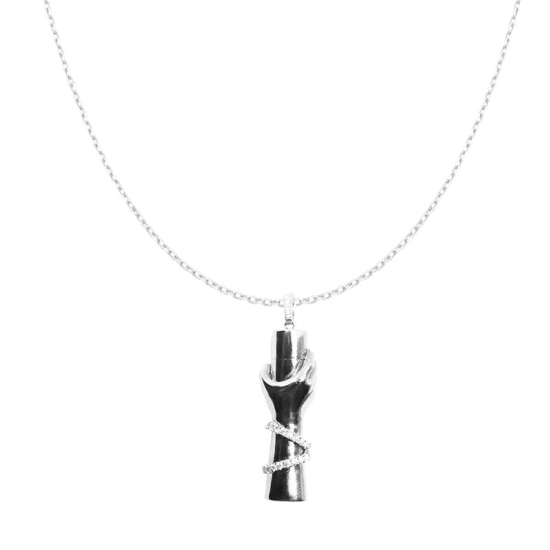 Care Bottle Necklace | 9.5GMS .25CT