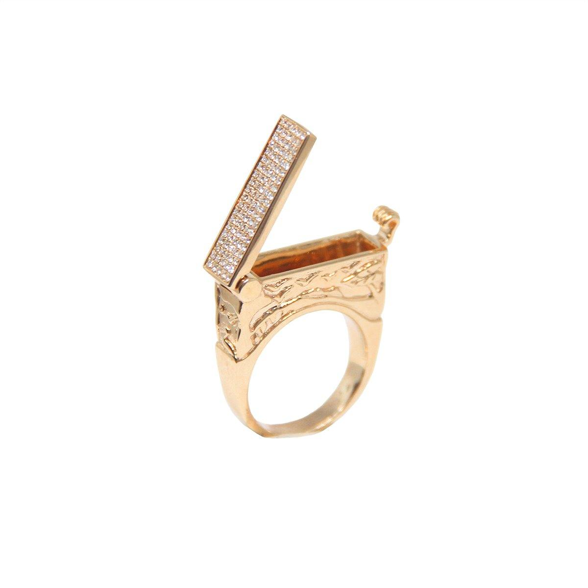 Cypress Poison Ring 12.5GM | .35CTS