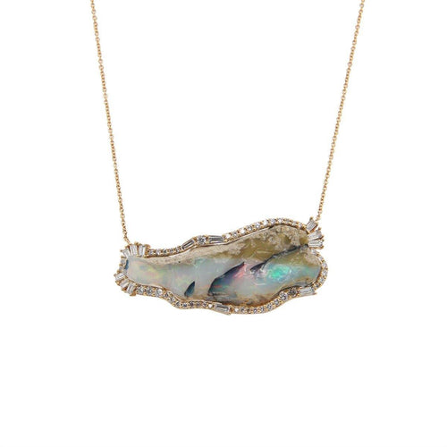 Sacred Opal Necklace 4.9GM | 1CT