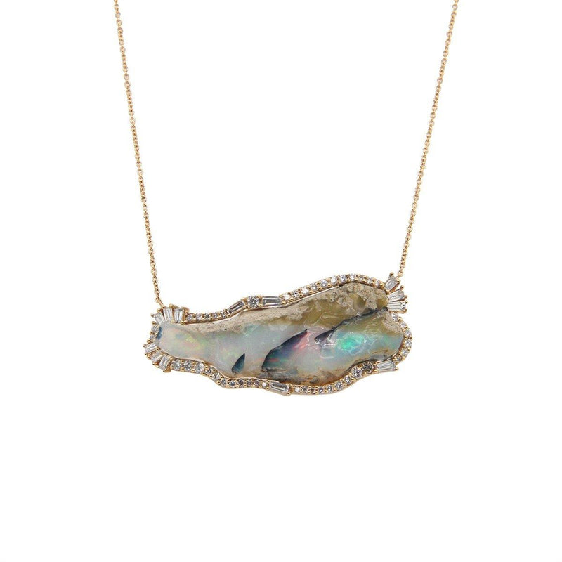 Sacred Opal Necklace | 4.9GMS 1CT