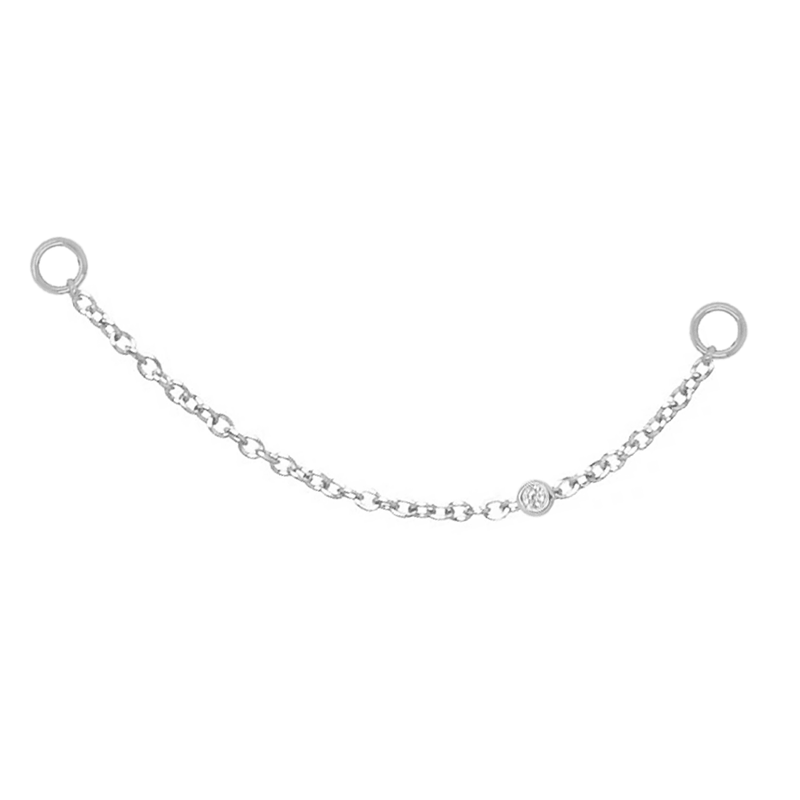 Earring Charm Chain | .20GMS .02CT