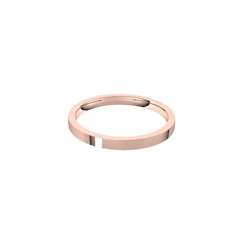 Gold Flat Edge Band | 6GMS