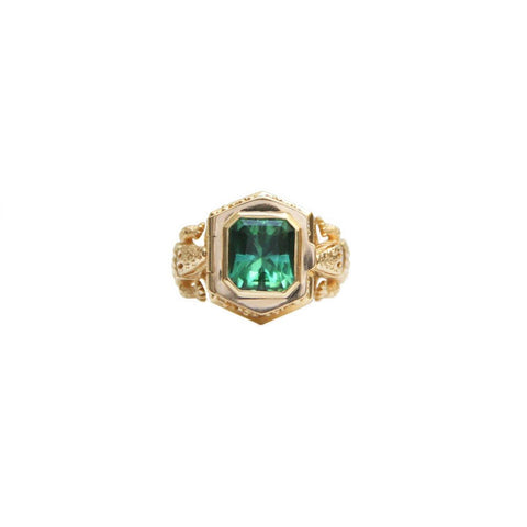 Baguette Bezel Half Way Band 1.73GMS | .25CTS