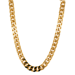 Gold Curb Chain Necklace by Porter Lyons