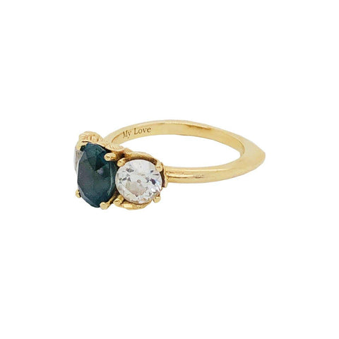 Turquoise Peace Ring 4.2GM | .25CT