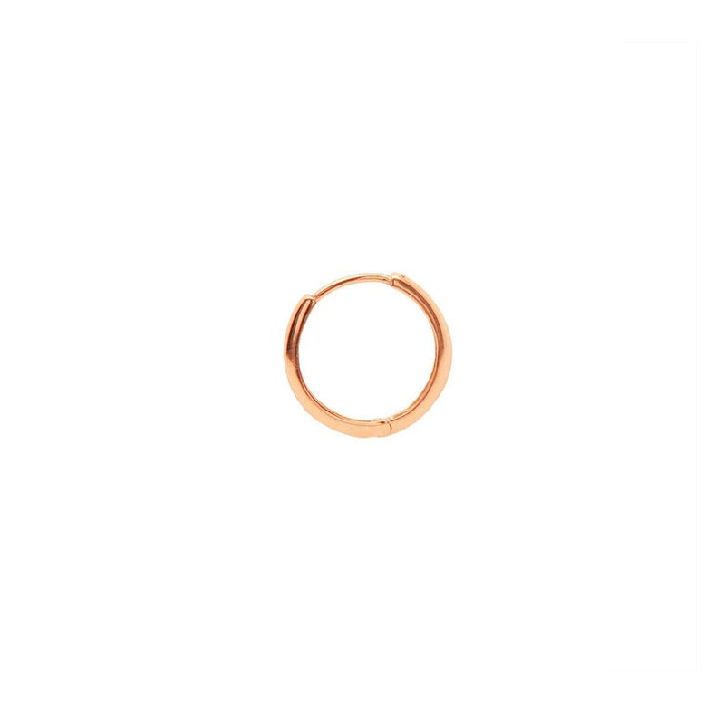Medium Gold Lock Hoop | .66GMS | Single