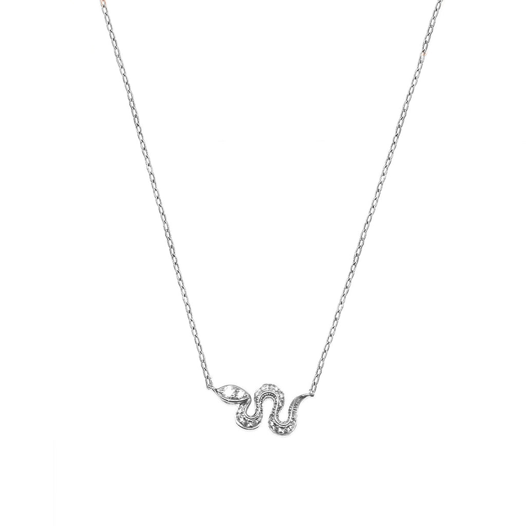 Mini Snake Necklace 1.50GM | .10CT