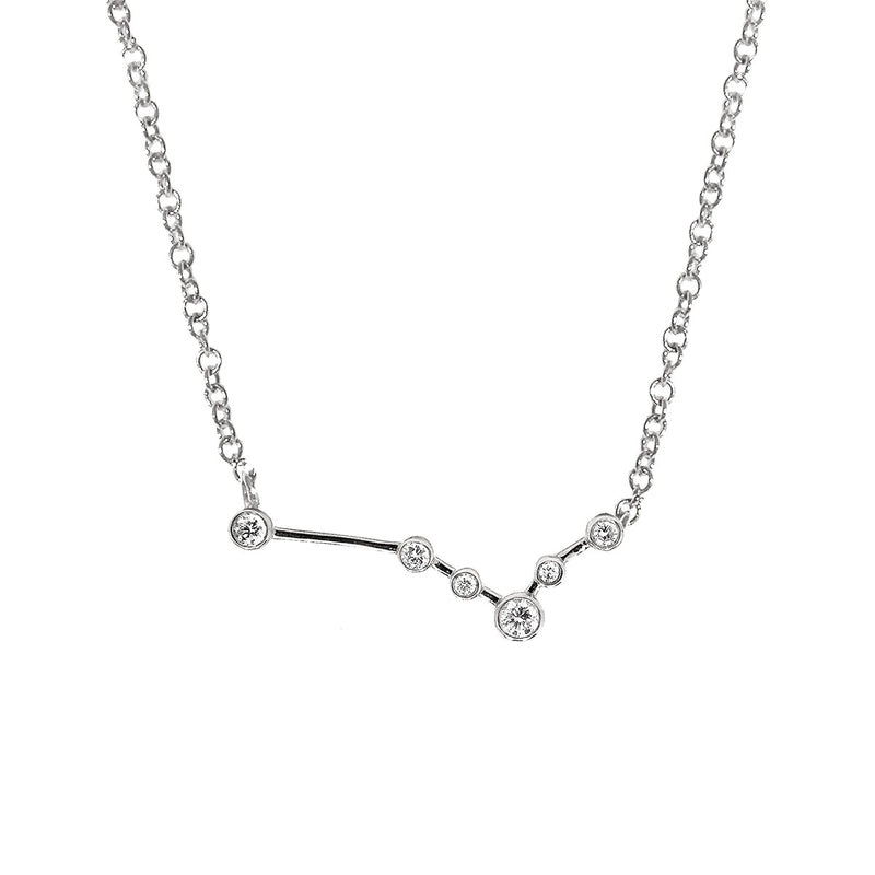 Pisces Zodiac Necklace | 1.70GM .10CT