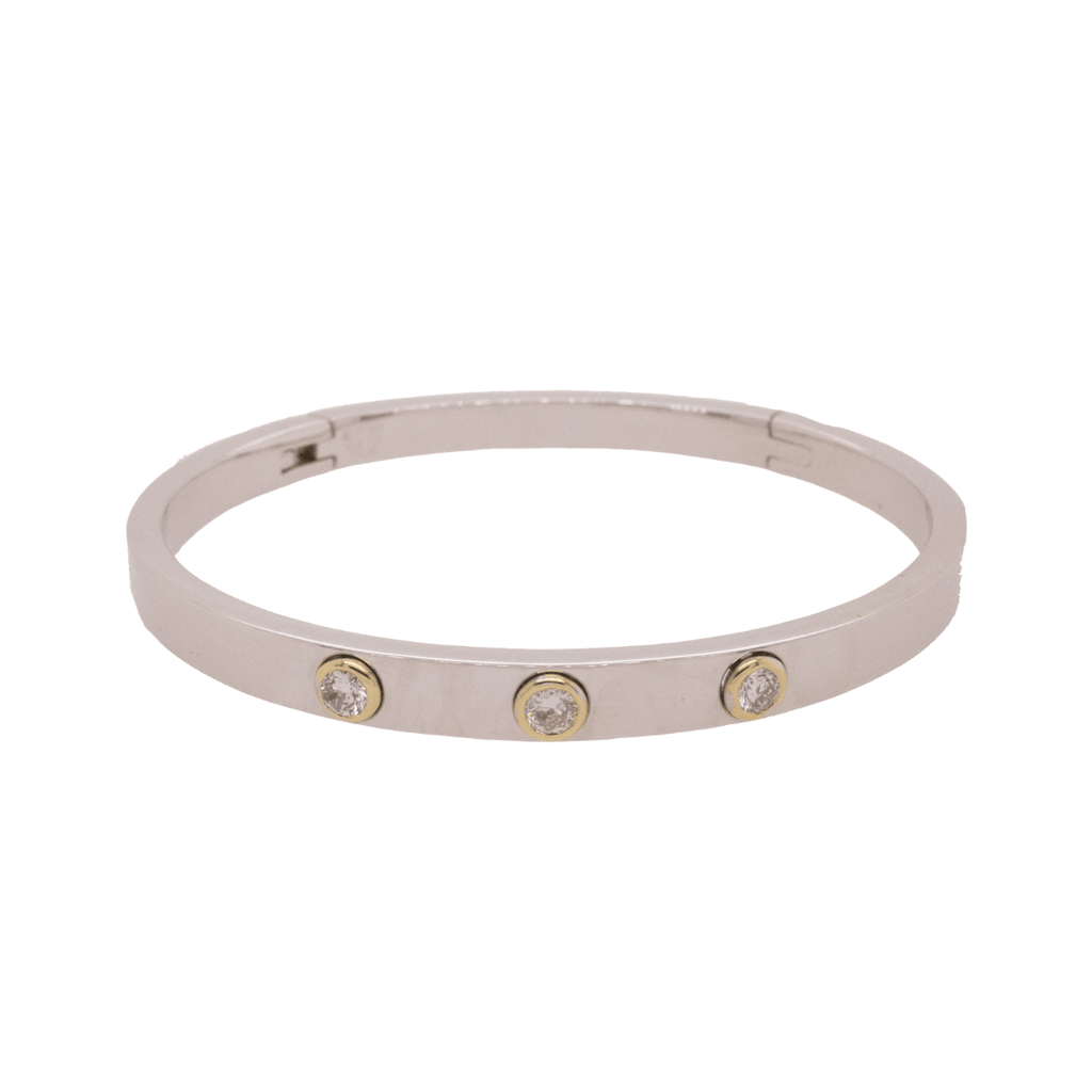 Platinum Prescription Bracelet | 38GMS .3CT