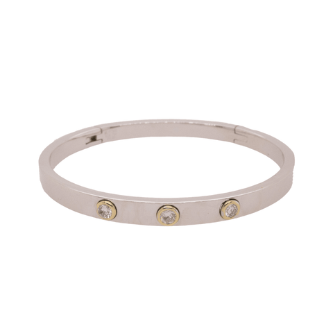 Large Gold Lock Hoop | .62GMS