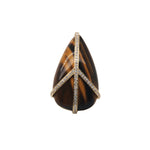 Tiger's Eye Peace Ring | 4.4GMS .25CT