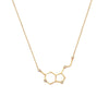 Serotonin Necklace | 1.7GMS .02CT