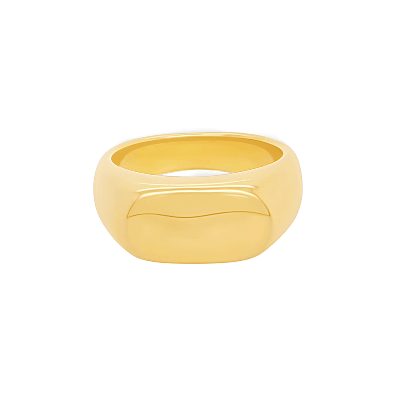 Signet Ring in Gold by Porter Lyons