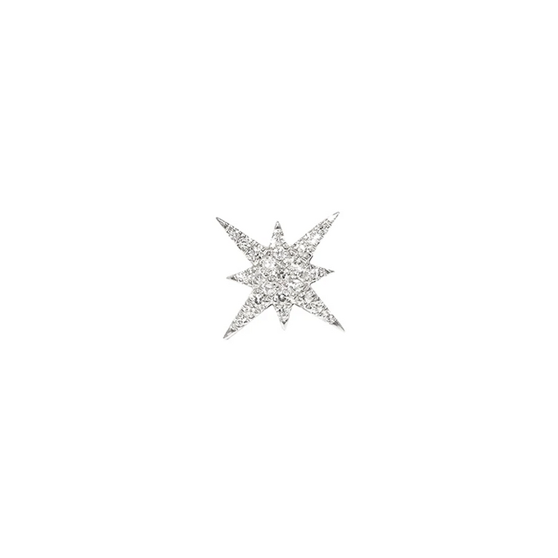 Star Burst Stud | .69GMS .06CT | Single