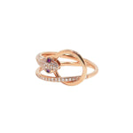 Snake Veve Ring - Ruby | 3.43GMS .25CT