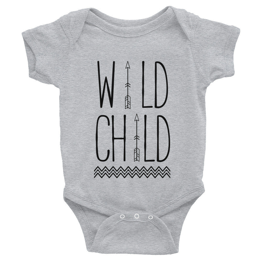 Wild Child Infant Onesie - Bowen Outdoors