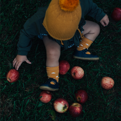 Merino Wool Knee High Rib Socks | CAPER