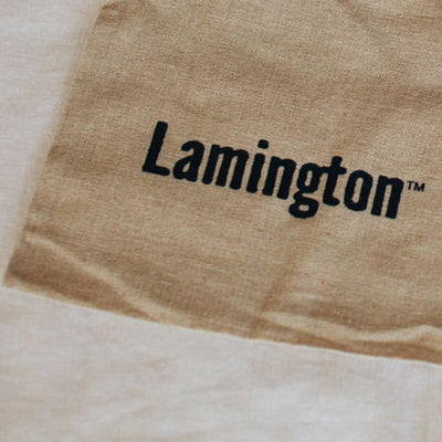 Lamington Natural Cotton Linen Drawstring Gift Bag