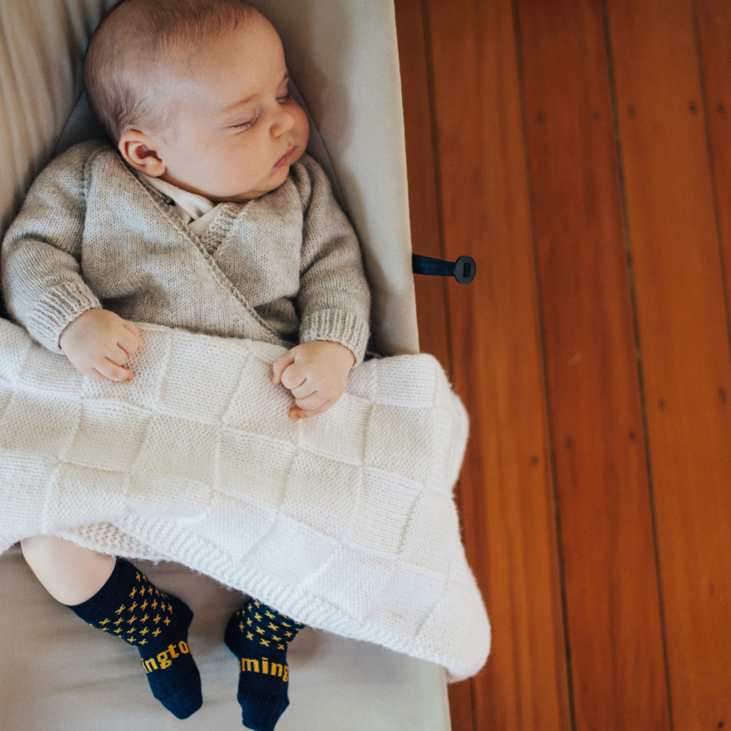Merino Wool Knee High Socks | Child | Reef