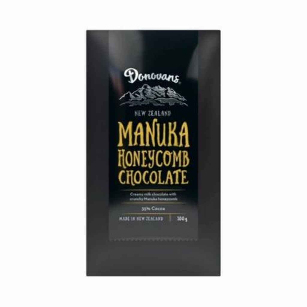 Donovans Manuka Honeycomb Chocolate Block