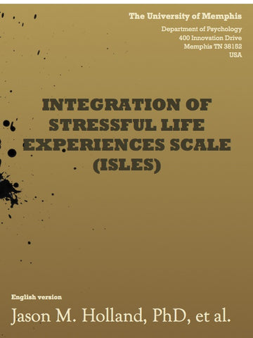 Integration of Stressful Life Experiences Scale (ISLES)