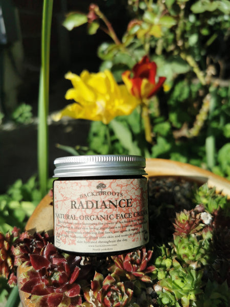 'Radiance'                      Organic Face Cream 40ml - skincare - Back2dRoots