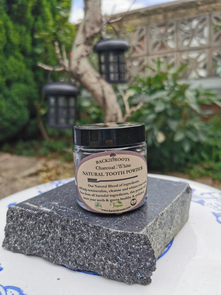 Natural Tooth powder 'Charcoal 2 White'