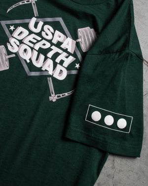 USPA Depth Squad Tee (Green)