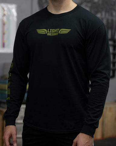 USPA Lightweight Long Sleeve - Black