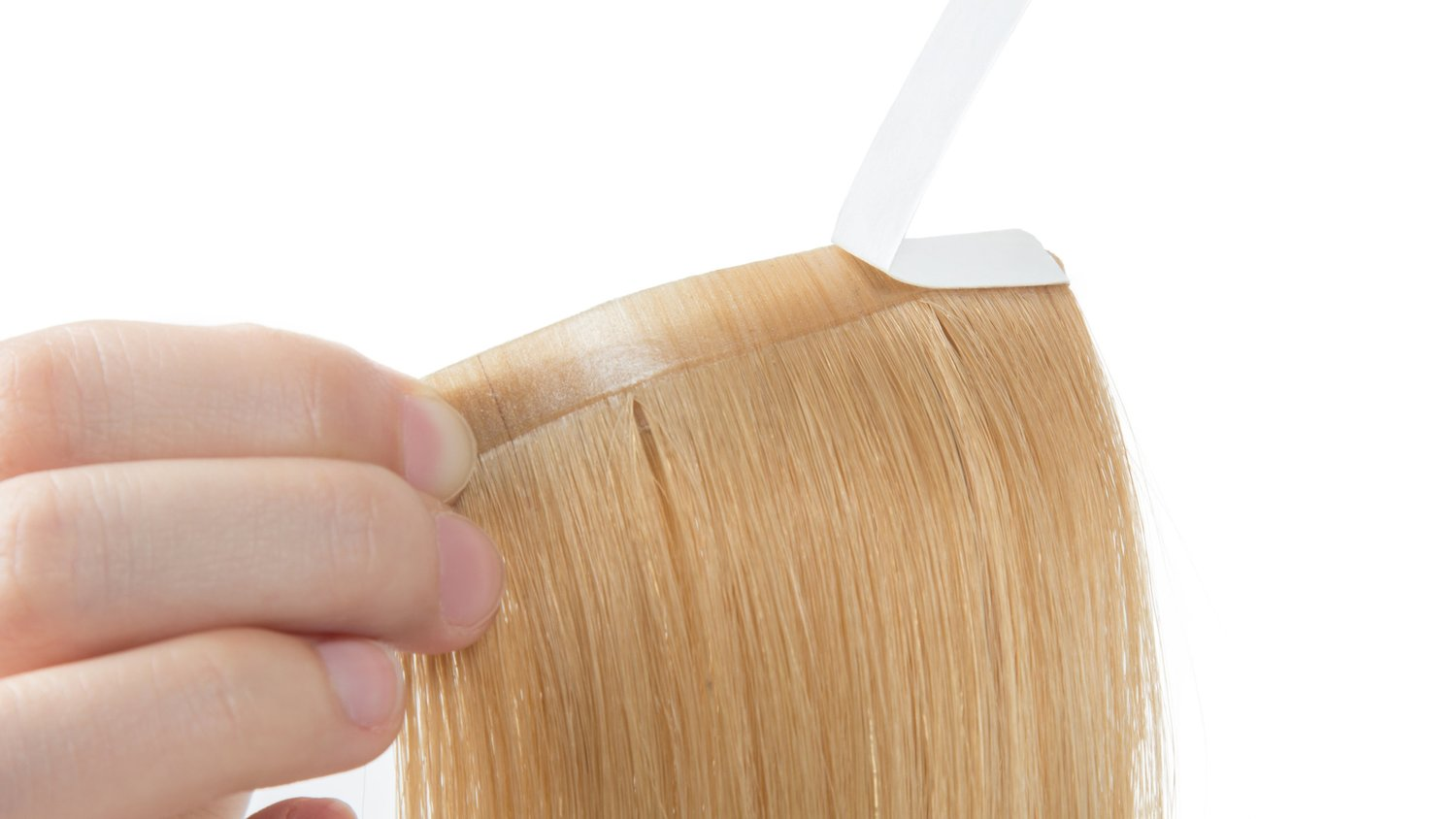 "3.0"" Adhesive Tape-in Silky Straight"