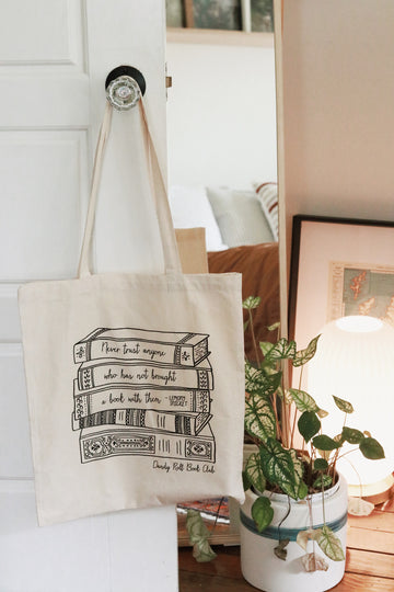 Dandy Roll Book Club Tote