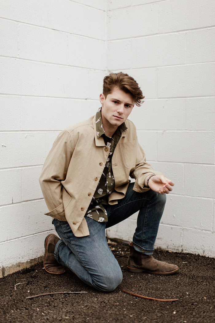 Nolan Jacket in Khaki