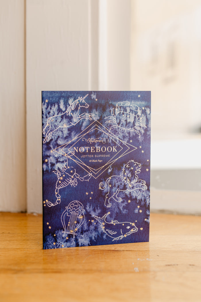 Indigo Constellation Notebook