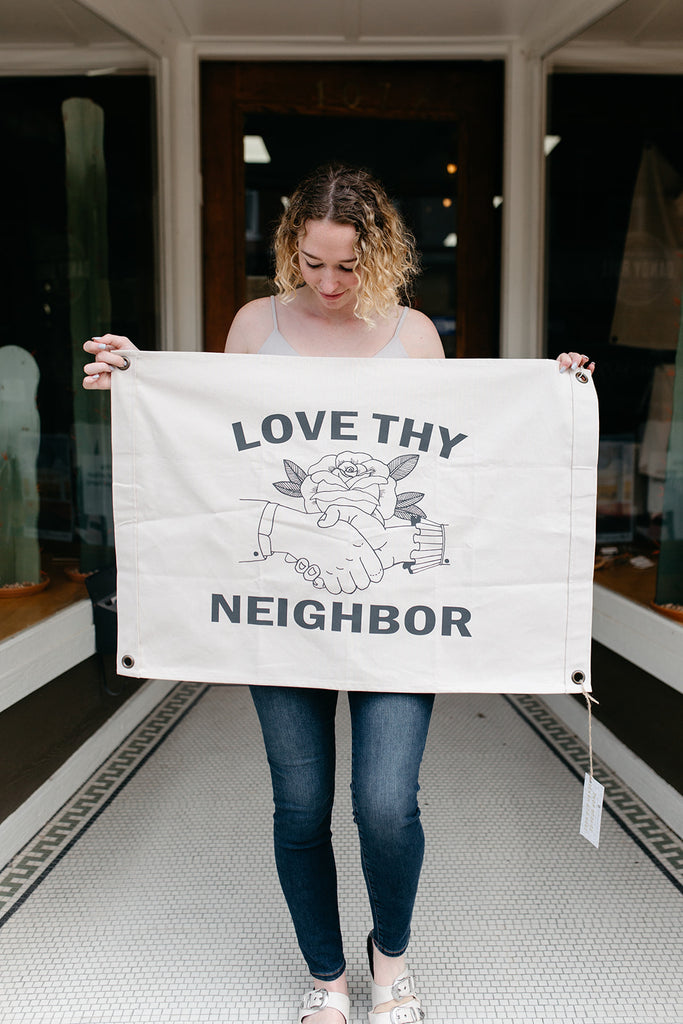 Love Thy Neighbor Flag