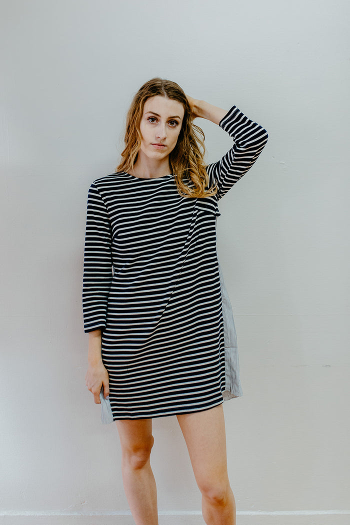 Emilia Stripe Knit Dress
