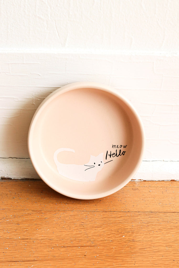 Whiskers Stoneware Bowl