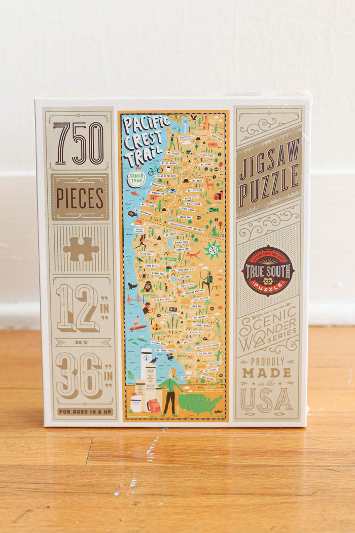 Pacific Coast Trail Puzzle